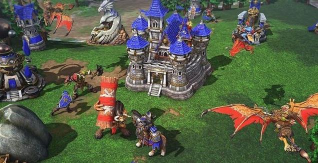 Warcraft 3 (מערכת ONE)