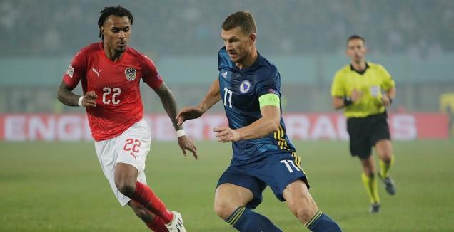 בוסניה נפרדה ב-0:0 מאוסטריה ועלתה לפלייאוף