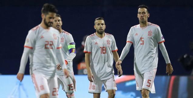 שחקני ספרד מאוכזבים (רויטרס)