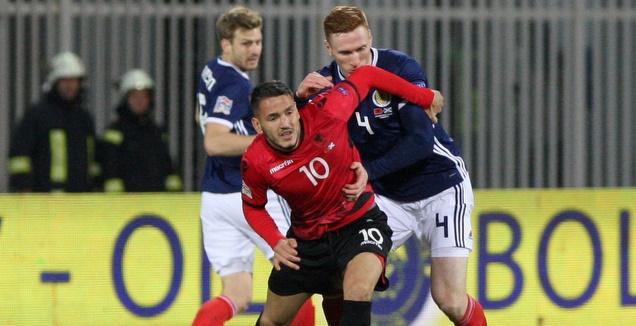דקה 87: אלבניה - סקוטלנד 4:0