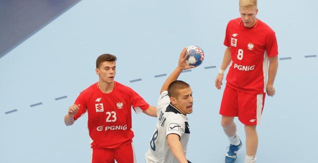 אמיר שניידר במדי נבחרת הנוער (EHF)