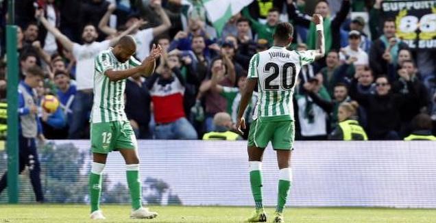 ג'וניור פירפו חוגג (La Liga)