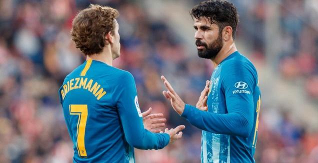 דייגו קוסטה ואנטואן גריזמן (La Liga)