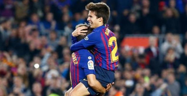 ריקי פוץ' חוגג (La Liga)