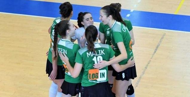 מכבי חיפה נשים בכדורעף (באדיבות מכבי חיפה)