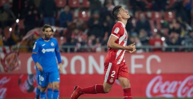 ברנרדו אספינוסה אחרי שער השוויון (La Liga)