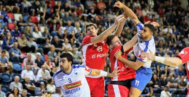 ניבו לוי ודניאל שקלים נגד נבחרת פולין (הדר ואן דולא, איגוד הכדוריד)