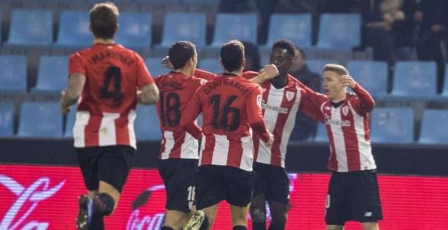 שחקני בילבאו חוגגים (La Liga)
