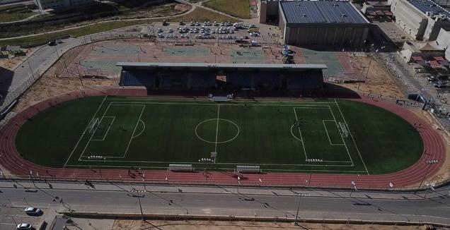 אצטדיון האתלטיקה החדש בעיר הבה