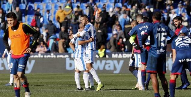 שחקני ווסקה מאוכזבים בסיום (La Liga)