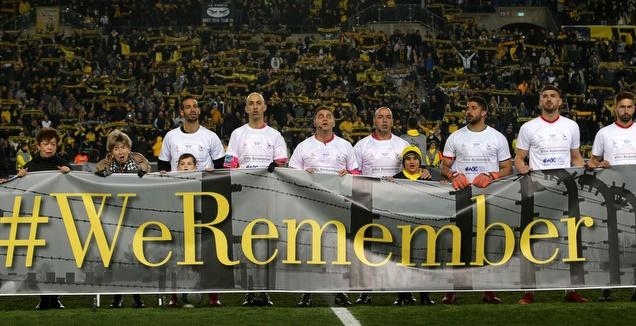 טקס לכבוד יום השואה הבין לאומי בטדי (אורן בן חקון)
