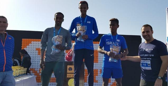 הזוכים במקומות הראשונים באליפות ישראל ל 15 ק