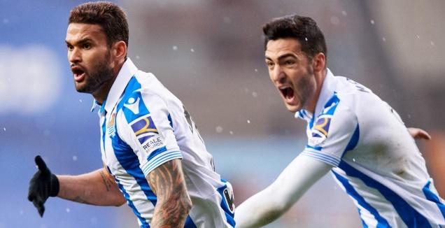 וויליאן ז'וזה חוגג (La Liga)