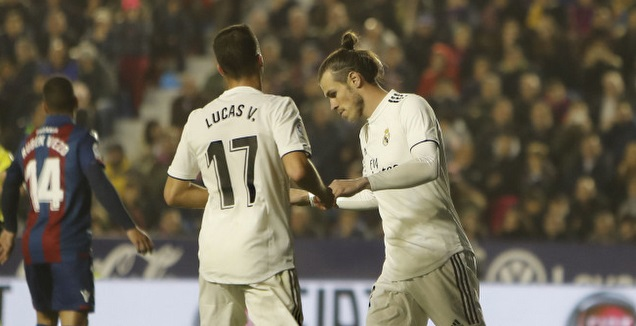 גארת' בייל ולוקאס ואסקס (La Liga) (רויטרס)