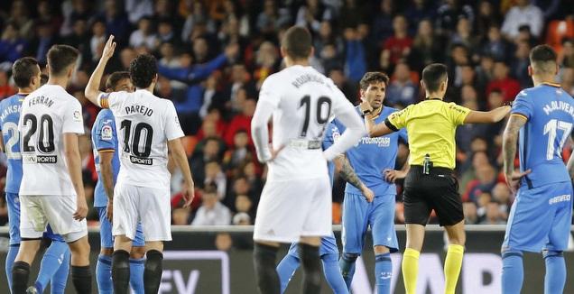 שחקני ולנסיה וחטאפה (La Liga)