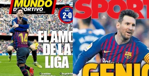 שערי העיתונים בברצלונה (מערכת ONE)