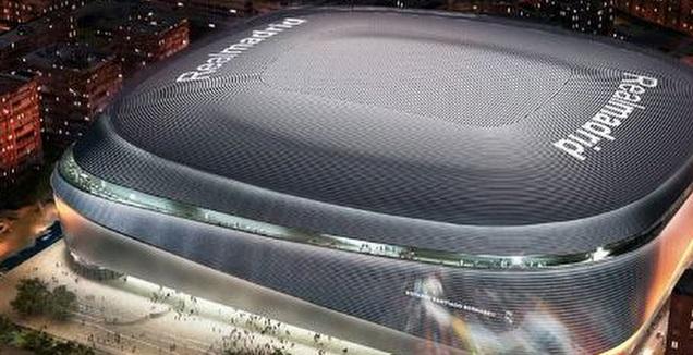 הסנטיאגו הברנבאו החדש (צילום מסך)