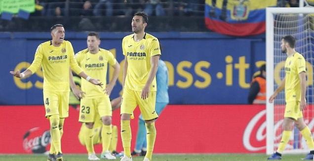 שחקני ויאריאל מאוכזבים (La Liga)