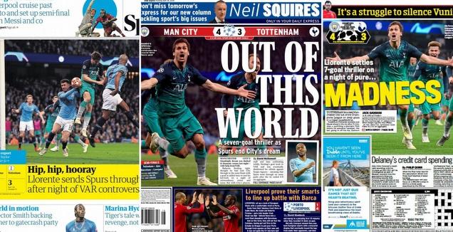 עיתוני אנגליה (מערכת ONE)