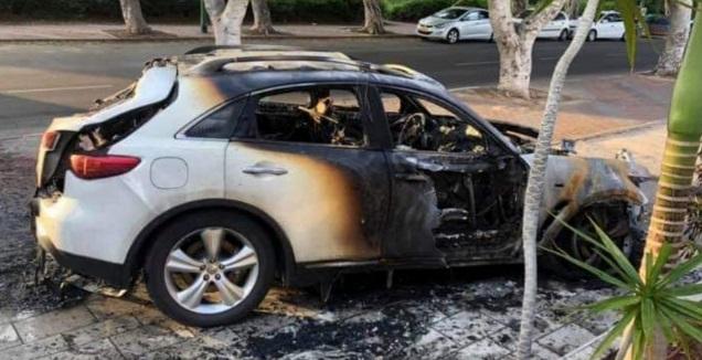 הרכב השרוף (פייסבוק)