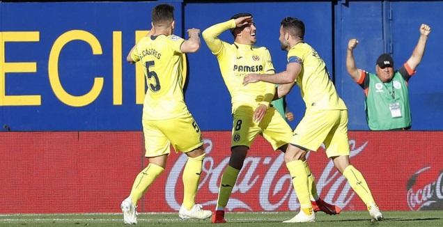 פאבלו פורנאלס חוגג את הראבונה (La Liga)
