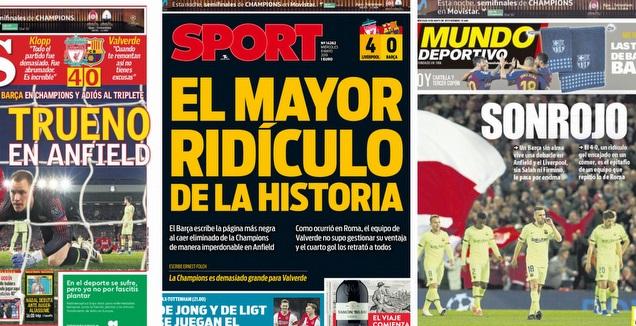 העיתונים בספרד (מערכת ONE)