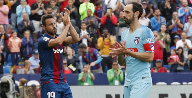 """רגע לפני בית""""ר: אתלטיקו ולבאנטה נפרדו ב-2:2"""