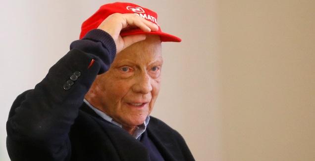 ניקי לאודה והכובע האדום. נהג אגדי (רויטרס)