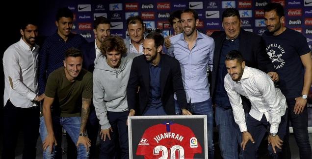 חואנפראן נפרד מאתלטיקו (La Liga)