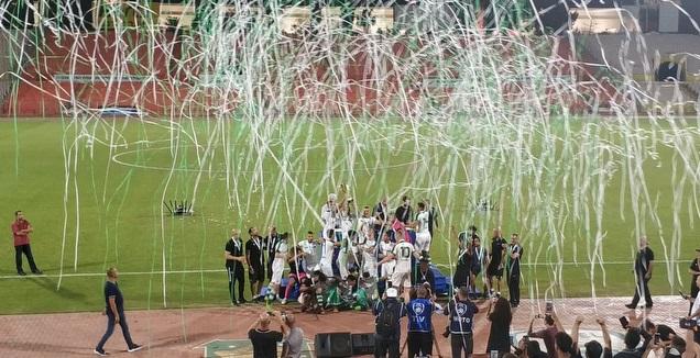 מכבי חיפה זוכה בגביע (עומר עזר)