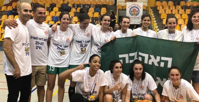 קבוצת הנשים של מכבי חיפה (באדיבות איגוד הכדורסל)