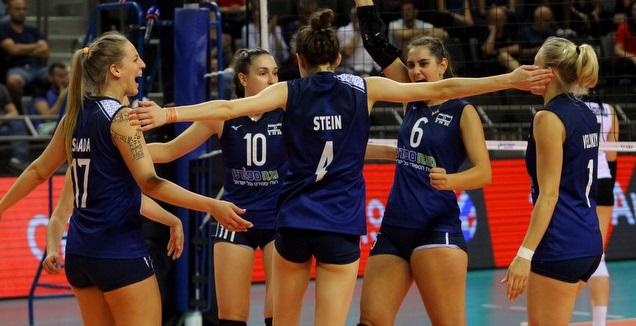 נבחרת ישראל (דוד סלברמן עבור איגוד הכדורעף)
