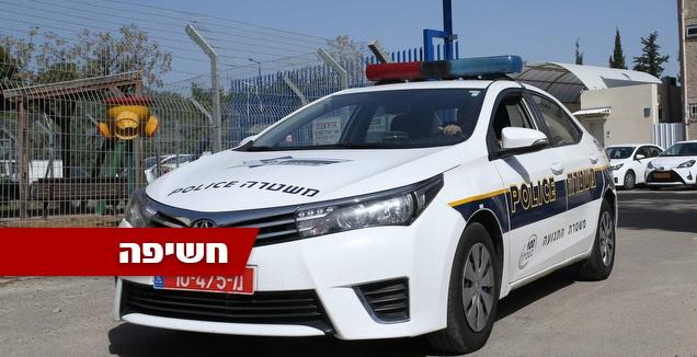 ניידת, משטרת יבנה (אורן בן חקון)