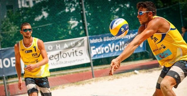 הדר ודיי בכדורעף החופים (צילום: CEV)