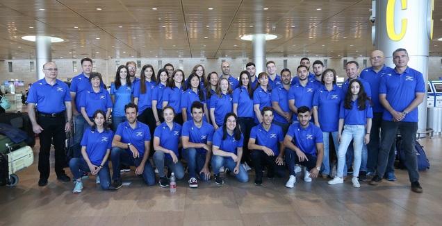 המשלחת הישראלית למשחקים האירופיים במינסק (רדאד ג'בארה)