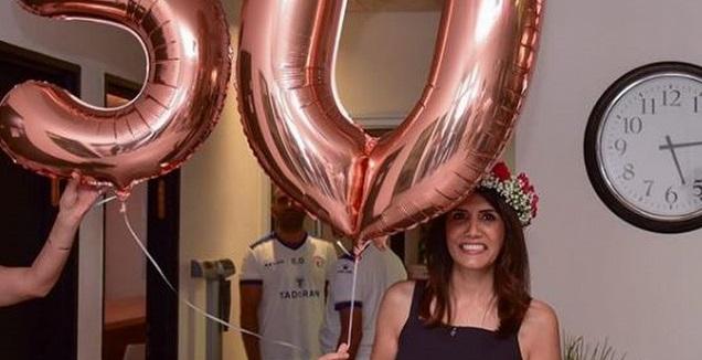 אלונה ברקת בחגיגות יום הולדתה (אינסטגרם)