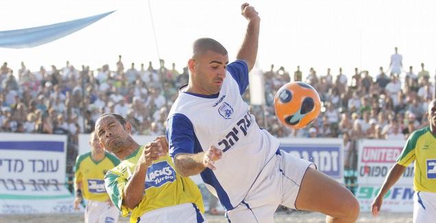 ערן לוי במפגש הקודם מול ברזיל (עידו ארז)