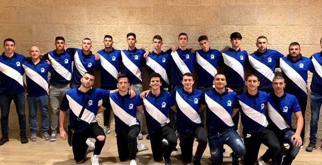 נבחרת הנוער בכדוריד (באדיבות איגוד הכדוריד)