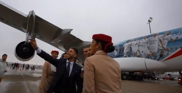 המטוס של ריאל מדריד (רויטרס)
