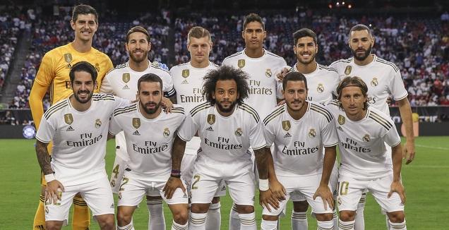 שחקני ריאל מדריד מודל 2019/20 (רויטרס)