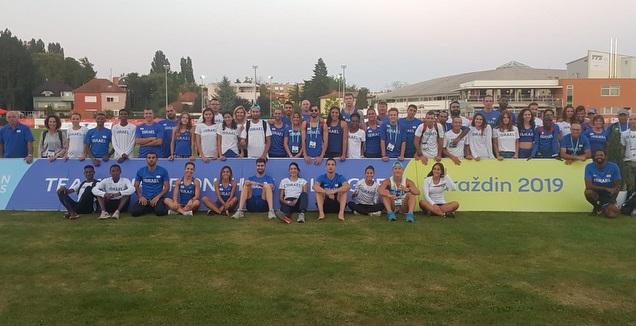 המשלחת הישראלית לאליפות אירופה דרג ב' (איגוד האתלטיקה)