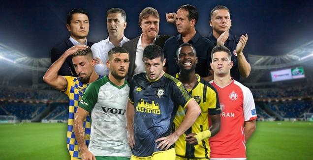 מאמני ושחקני ליגת העל 2019/20 (מערכת ONE)