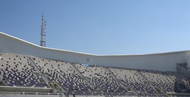שער 11 באצטדיון בלומפליד המחודש (שחר גרוס)