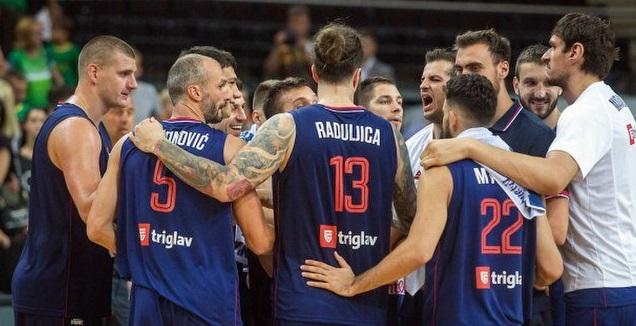 שחקני נבחרת סרביה (טוויטר)