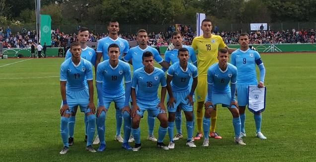 נבחרת הנערים של ישראל (באדיבות ההתאחדות לכדורגל)