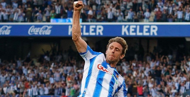נאצ'ו מונריאל חוגג (La Liga)