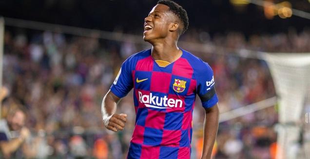 אנסו פאטי (האתר הרשמי של ברצלונה)