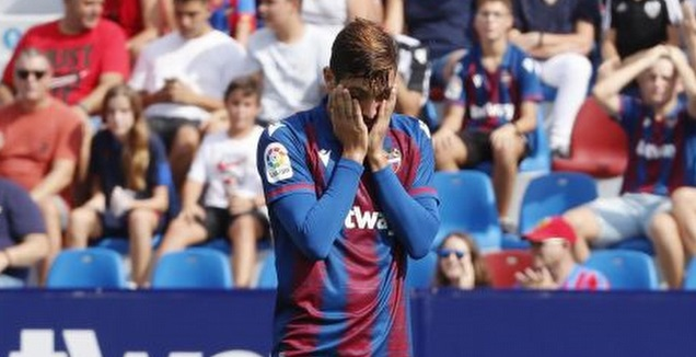 חוסה קמפנייה מאוכזב (La Liga)