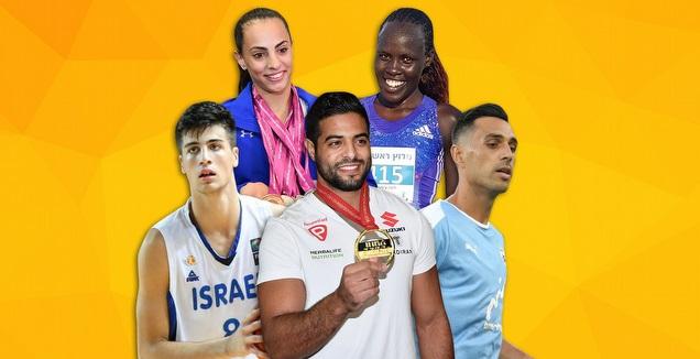 סיכום השנה בספורט הישראלי (גרפיקה: קרולינה אריכמן)