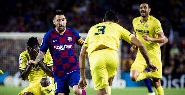 ליאו מסי מול ויאריאל (האתר הרשמי של ברצלונה)